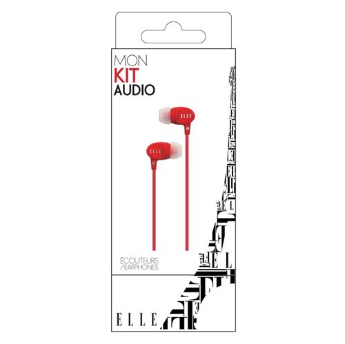 Image de Earphone Rouge - ELLE