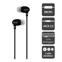 Image de Earphone Noir - ELLE