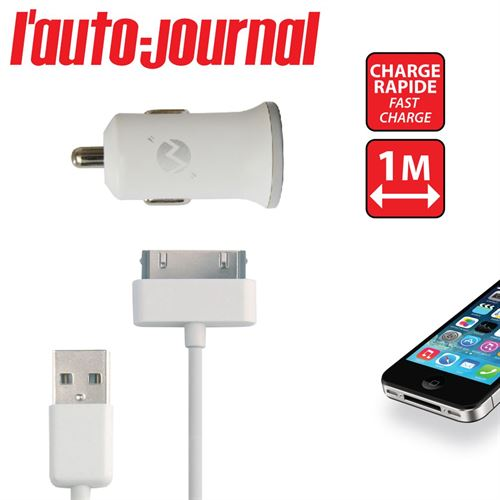 Picture of Chargeur voiture 2A 1USB iPhone4S